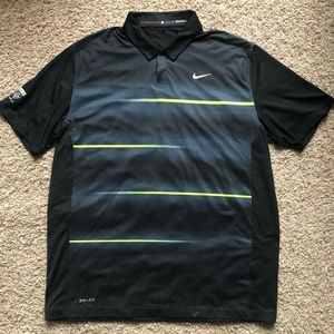 Men's Nike Tiger Woods Tour Performance Golf Polo